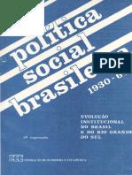 Politica Social Brasileira 1930 64 Texto