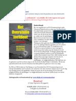 Het Overstone Incident (Flyer)