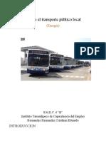 Evalúa El Transporte Público Local