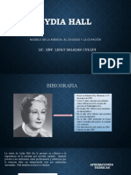 TEORIA LYDIA HALL