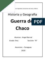 La Guerra Del Chaco Fue Un Enfrentamiento Entre Bolivia y Paraguay