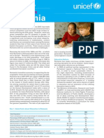 UNICEF Education in Romania