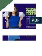 SIMULADOR DE RENDIMENTOS PARA O DINHEIRO DO DIA A DIA - ME POUPE!