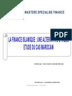 La Finance Islamique Une Alternative Ethique Etude Du Cas Marocain
