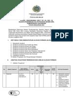 Rincian Formasi CPNS KEMENLU Tahun 2021