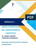 MODULO 1_UCT BASES FILOSOFICAS DEL CONOCIMIENTO CIENTIFICO