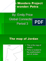 Class Powerpoint on Petra in Jordan by Emily from Clayton Middle School