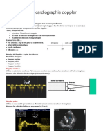 7.Echocardiographie doppler
