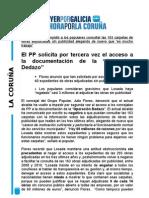 TERCERA SOLICITUD OPERACIÓN DEDAZO. 23/03/2011