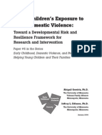 children's exposure to violence