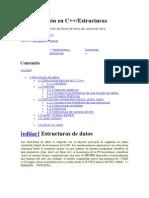 Programación en C++ estructuras y funciones