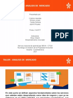 TALLER DE EMPRENDIMIENTO ANALISIS DEL MERCADO (2)