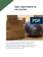 Merceología Importancia en El Comercio Exterior