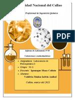 """Valdivia - Informe 5 - """"Valoraciones Conductimétricas"""" (1)"""