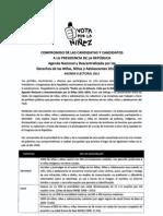 Agenda Nacional por la Niñez firmada por la candidata Keiko Fujimori