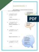 10º Clase -3º Mat-relacion y Funcion