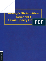 Teologia Sistematica Tomo 1 Vol 1 - Lewis Sperry Chafer