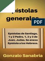 Epístolas Generales Estudio Bíblico de Santiago, 1 y 2 de Pedro