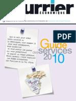 Courrier economique n°  115 Guide des services CCI Versailles Val d'Oise Yvelines