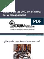 Trabajo de Las ONG en el Tema de La Discapacidad