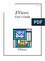 eviews user guide (all)