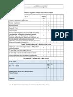 Scala Hendrich II-evaluarea riscului de cadere-pacient