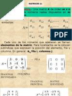 3 1 Matrices y Determinantes 2º Bah CCSS 1