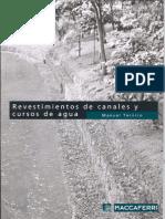 Manual Revestimiento de Caneles y Cursos de Agua