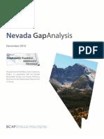 Nevada Gap Analysis MASTER