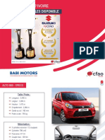 Suzuki by CFAO - GAMME 2019 - RCI.