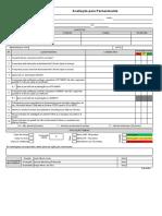 Form. 06-001 Avaliação para fornecimento