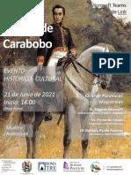 JORNADA CULTURAL_Batalla de Carabobo_Con enlace