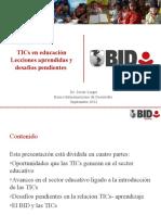 Javier Luque TICs en Educación