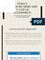FALLOS DE MERCADOS