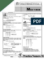 N°10 MCD Y MCM