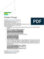 Analisi Chopin