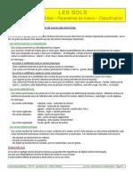 D01 Sols Parametres Classification