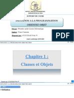 Chp1_Classes et Objets
