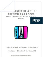 Cholesterol and the French Paradox