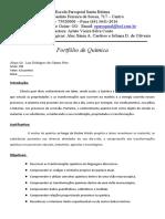 Portfólio 3º Ciclo - Química Luiz Rodrigues dos Santos Neto