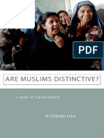 M. Steven Fish - Are Muslims Distinctive__ A Look at the Evidence   (2011, Oxford University Press, USA)