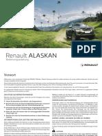 Renault Alaskan Bedienungsanleitung