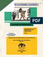 1998 aspectos de la domesticacion de plantas en mexico - una apreciacion personal