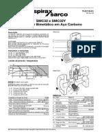 SMC32_e_SMC32Y_Purgador_Bimetálico_em_Aço_Carbono-Technical_Information