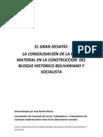 PROPUESTA PARA EL CONGRESO DE LA CONSTRUCCIÓN DEL BLOQUE HISTÓRICO (2)