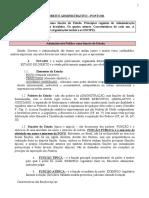 Administrativo - Ponto 1