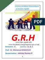 Cours de Grh Par Binkkour