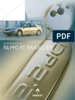 Renault - Rapport Annuel 2001