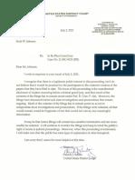 Schiltz Letter