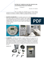 MATERIALES ELECTRICOS Y MARCAS QUE SE USAN EN UNA INSTALACIÓN ELECTRICA DE VIVIENDA